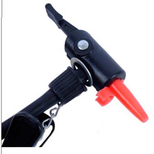 Насос напольный универсальный компактный для моноколеса или гироскутера