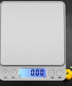 Весы кухонные серебристый металлик