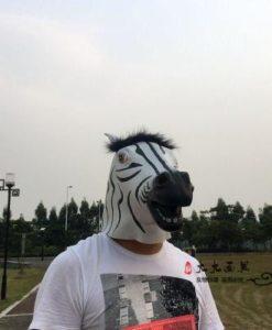 Маска зебры