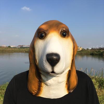Маска собаки английской гончей