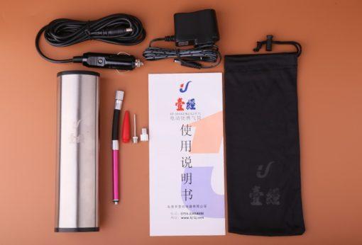 Насос электрический компактный на аккумуляторах с дисплеем